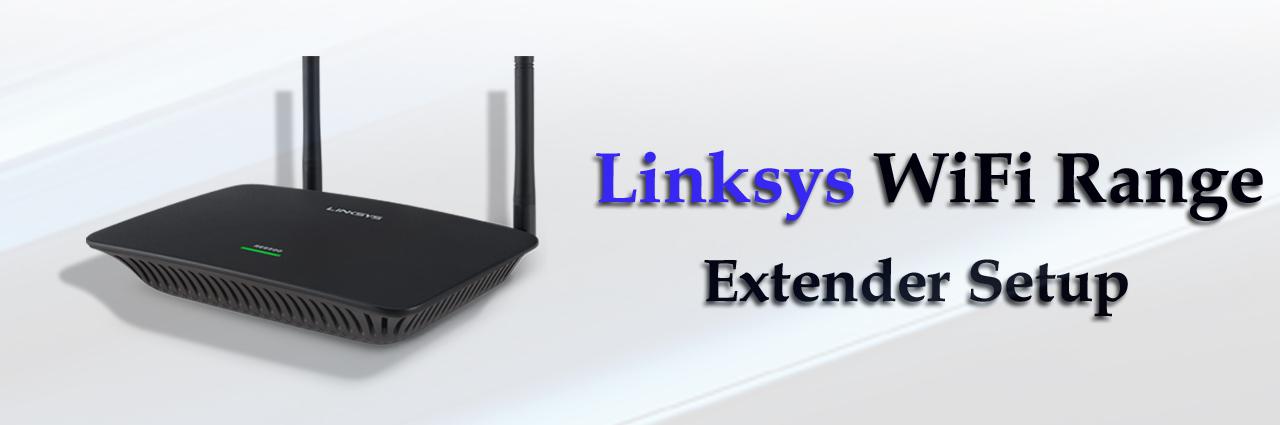 linksys wifi range extender setup